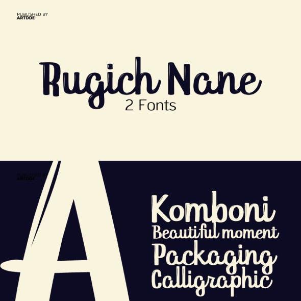 Rugich Nane Script