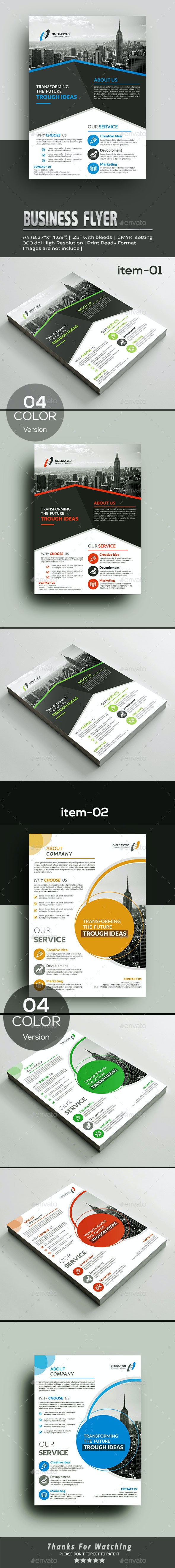 Flyer Bundle 2in1 - Corporate Flyers