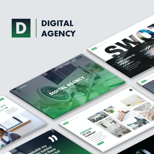 Digital Agency Business Keynote Templates