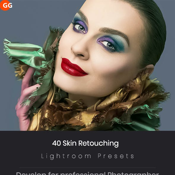 40 Skin Retouching Lightroom Preset