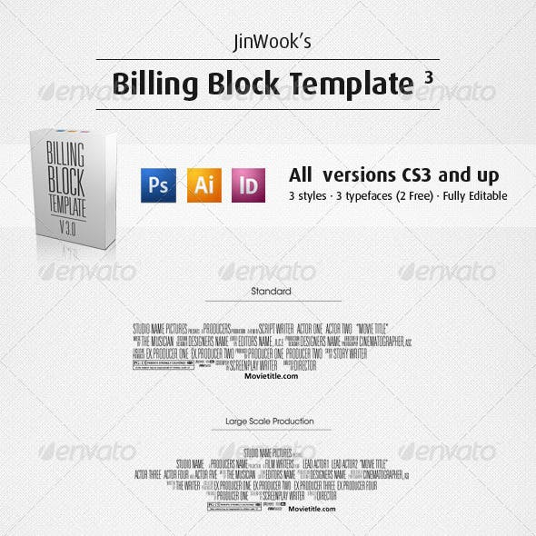 JinWook's Billing Block Template