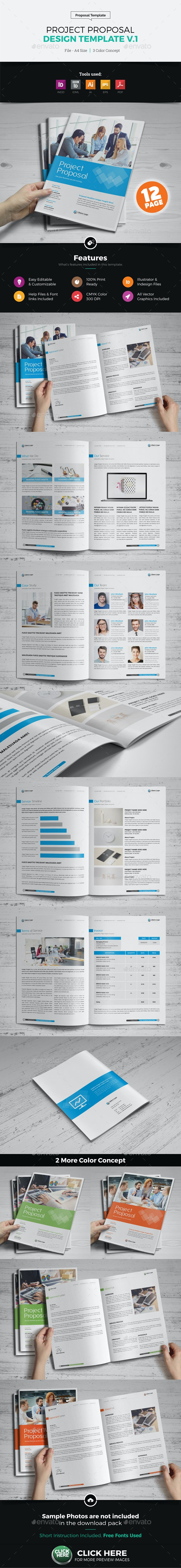 Project Business Proposal Design v1 - Proposals & Invoices Stationery