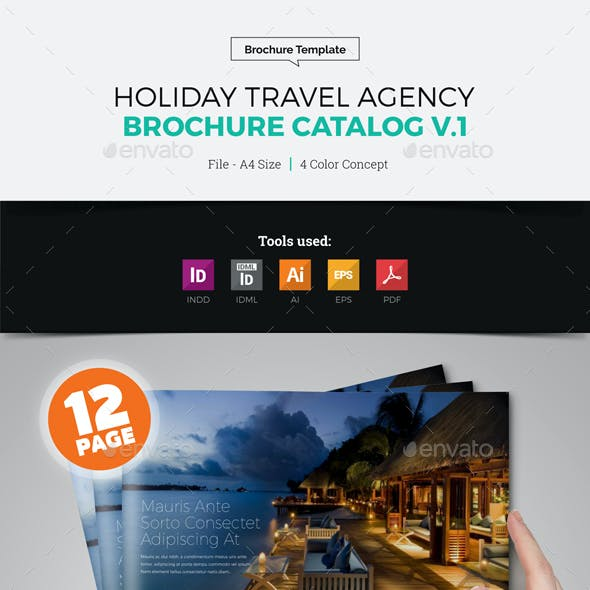 Travel Agency Brochure Catalog v1