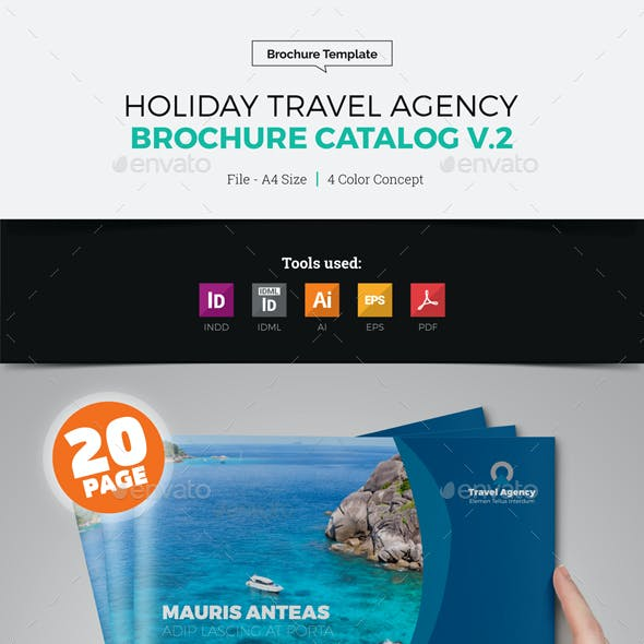 Travel Agency Brochure Catalog v2