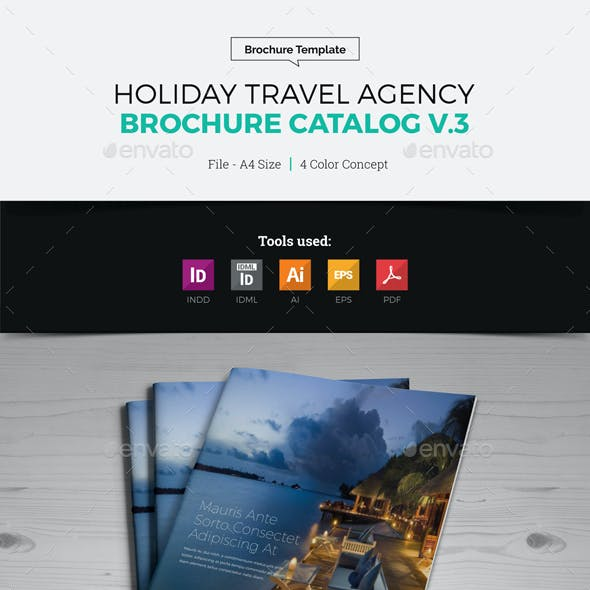 Travel Agency Brochure Catalog v3