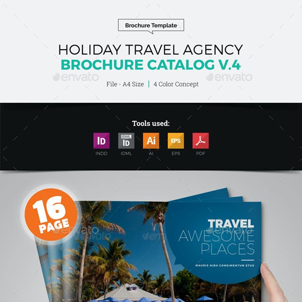 Travel Agency Brochure Catalog v4