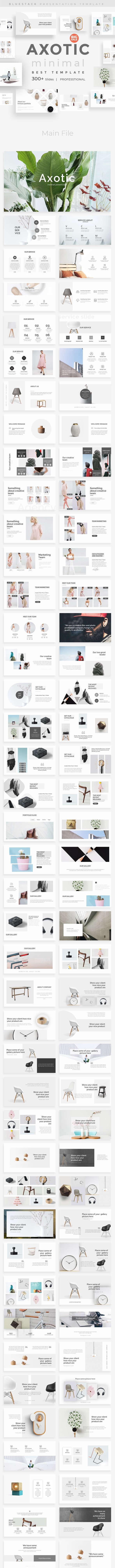 Axotic Creative Powerpoint Template - Creative PowerPoint Templates