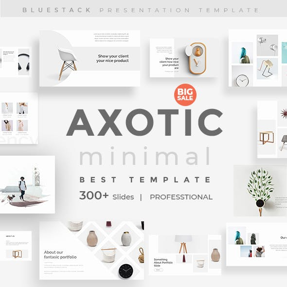 Axotic Creative Powerpoint Template