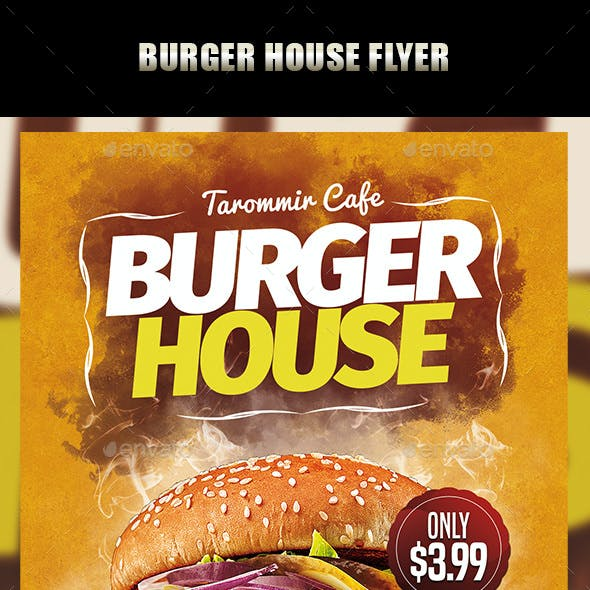 Burger House Flyer