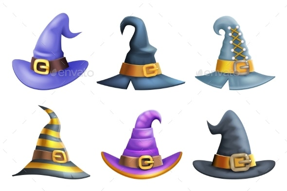 Witch Hat Halloween Children Costume Kid - Man-made Objects Objects