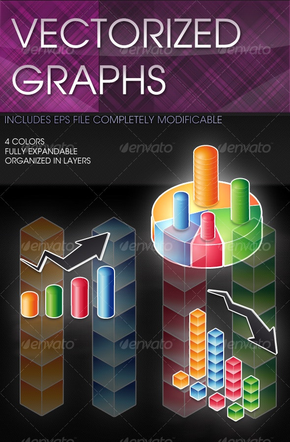 Vectorized Graphs - Business Illustrations