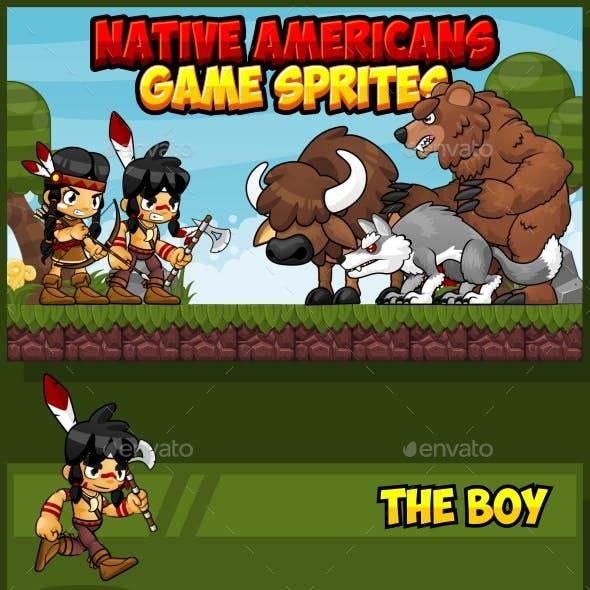 Native American - Game Sprites
