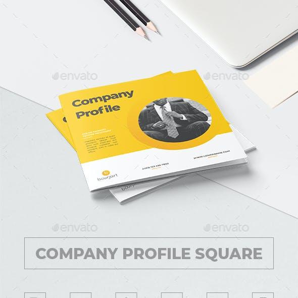 Company Profile Square Graphics, Designs & Templates