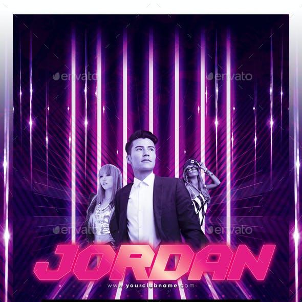 DJ Nightclub Flyer