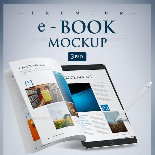 e-Book Mockup