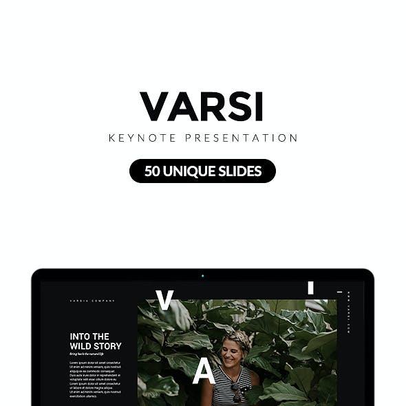 Varsia Keynote Template