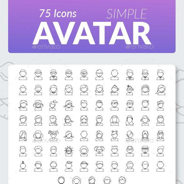 Icon Avatar Simple