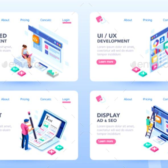 Webdesign Web Page Templates