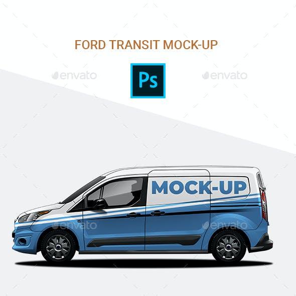 Ford Transit mock-up