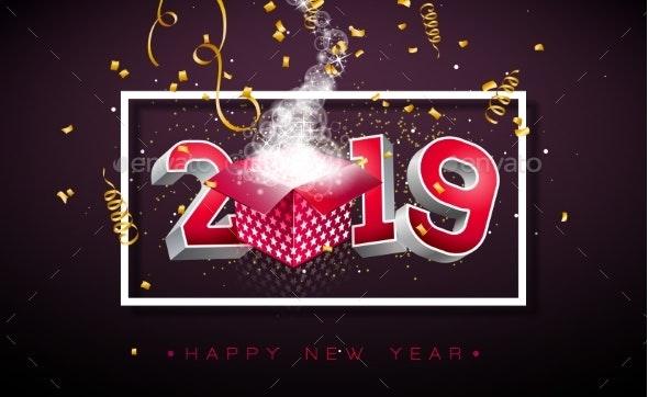 2019 Happy New Year - New Year Seasons/Holidays
