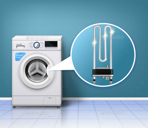 Washing Machine Protection Composition - Man-made Objects Objects