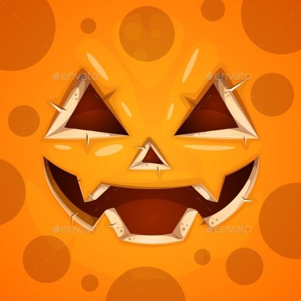 Pumpkin Character Halloween - Halloween Seasons/Holidays