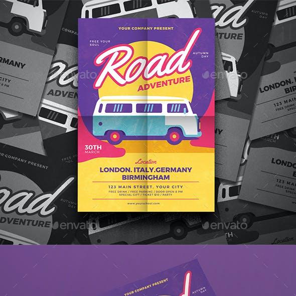Road Trip Flyer