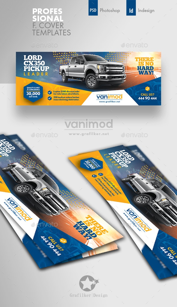 Car Sales Cover Templates - Facebook Timeline Covers Social Media