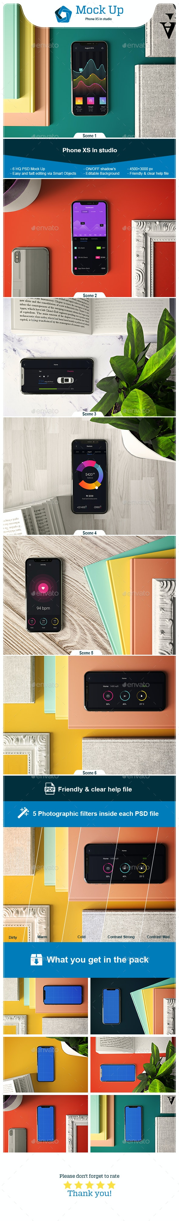 Phone XS in Studio - Mobile Displays