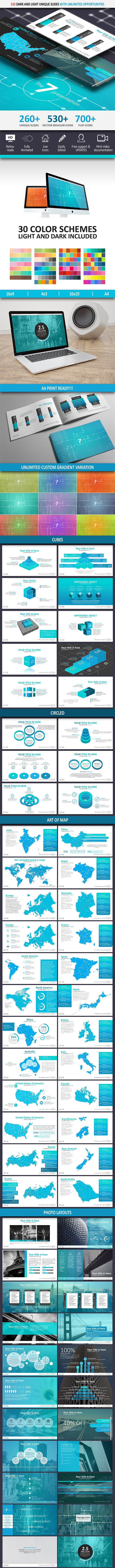 The 7 Powerpoint Presentation Template - Business PowerPoint Templates