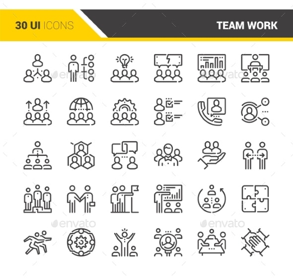 Team Work Icons - Icons