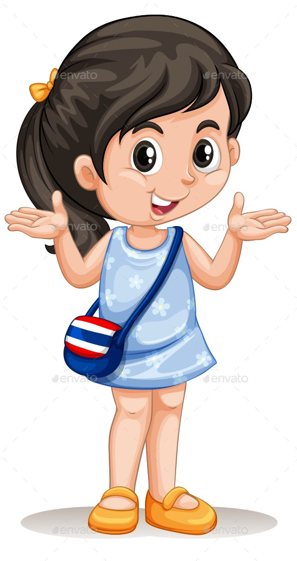 Handbag Girl - People Characters