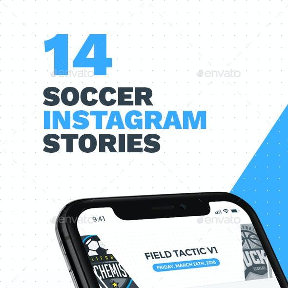 14 Soccer - Football Instagram Stories