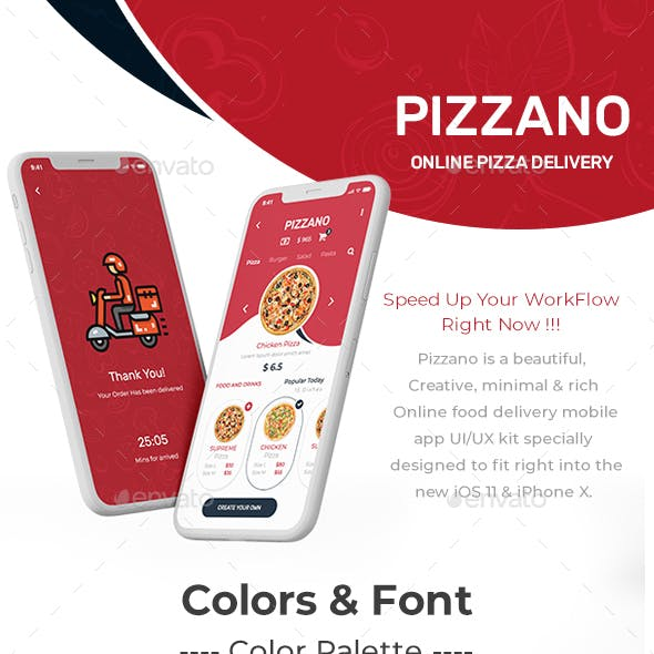 Pizzano UI Kit