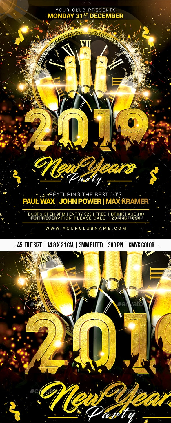 New Years Party - Clubs & Parties Events