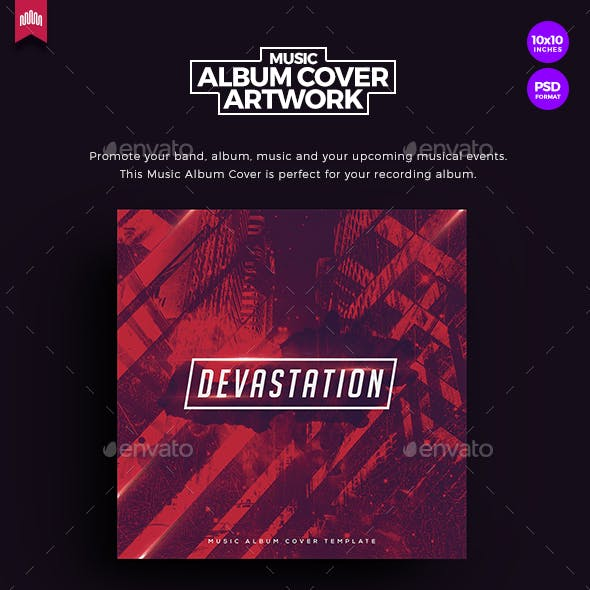 Devastation - Music Album Cover Artwork