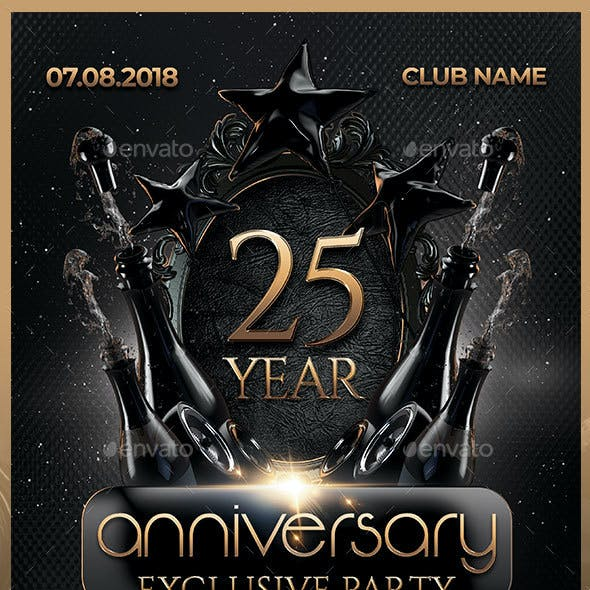 Anniversary Exclusive Party