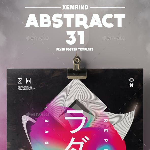 Abstract 31 Flyer/Poster Template