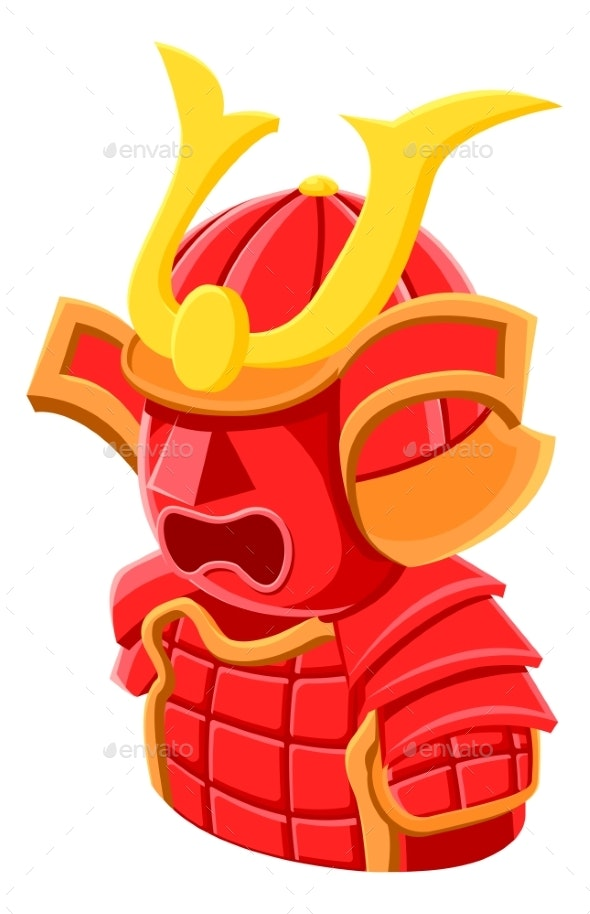Samurai Player Avatar People Icon - People Characters