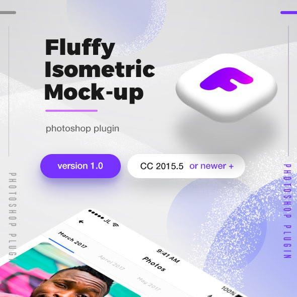 Fluffy Isometric Mock-Up