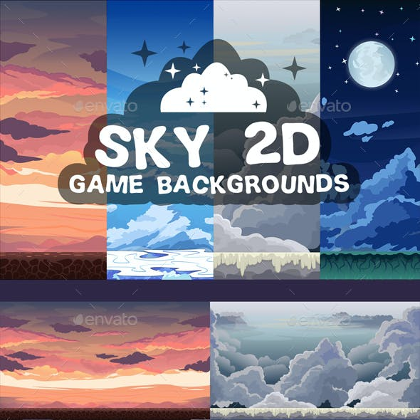 Sky Game Backgrounds