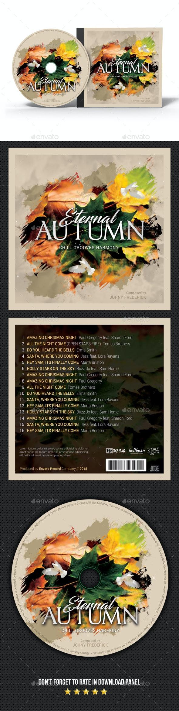 Autumn Eternal CD Cover - CD & DVD Artwork Print Templates