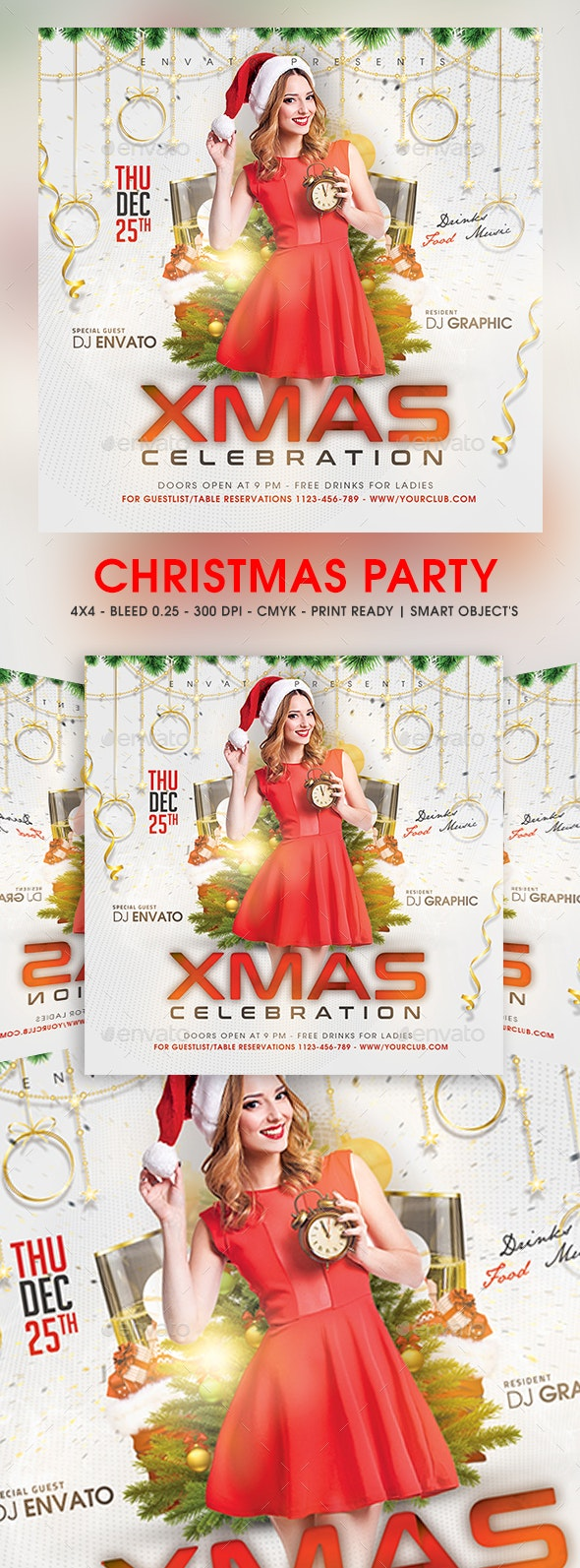 Chirstmas Party - Clubs & Parties Events