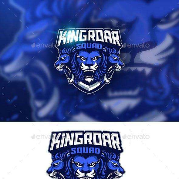 Kingroar Mascot logo