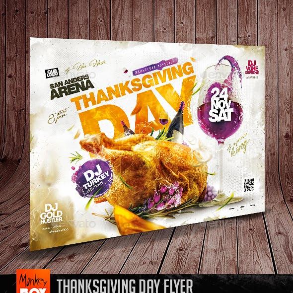 Thanksgiving Day Flyer
