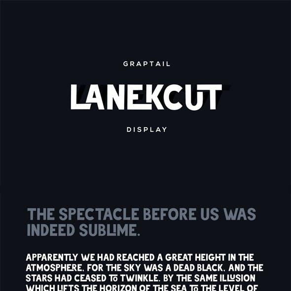Lanekcut Typeface