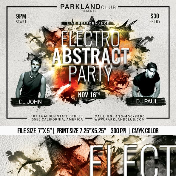 Electro Abstract Party