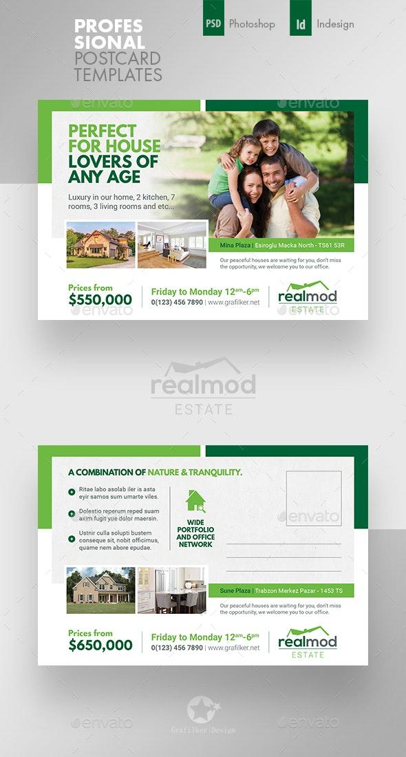 Real Estate Postcard Templates - Cards & Invites Print Templates