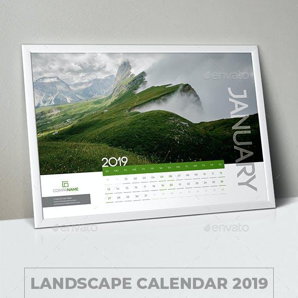 Landscape Calendar 2019