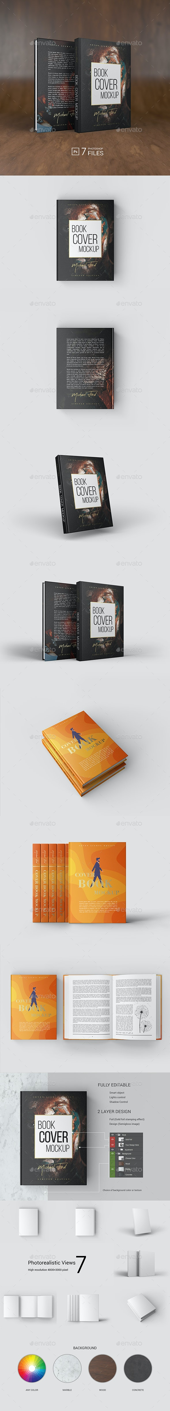 Cover Book Mockup - Books Print